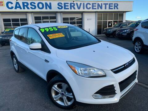 2013 Ford Escape for sale at Carson Servicenter in Carson City NV