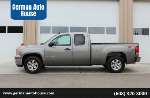 2012 GMC Sierra 1500 for sale at German Auto House in Fitchburg WI