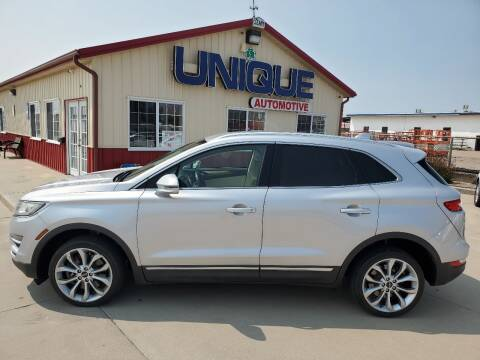 "2015 Lincoln MKC for sale at UNIQUE AUTOMOTIVE ""BE UNIQUE"" in Garden City KS"