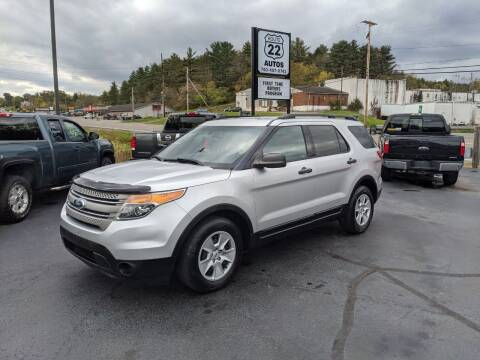 2013 Ford Explorer for sale at Route 22 Autos in Zanesville OH