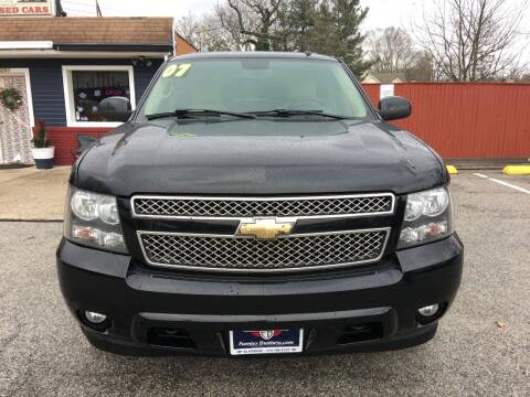 2007 Chevrolet Suburban for sale at Fuentes Brothers Auto Sales in Jessup MD