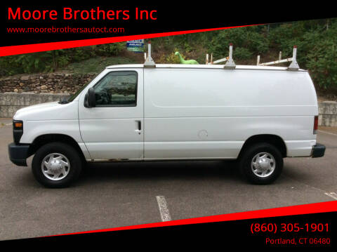 2013 Ford E-Series Cargo for sale at Moore Brothers Inc in Portland CT