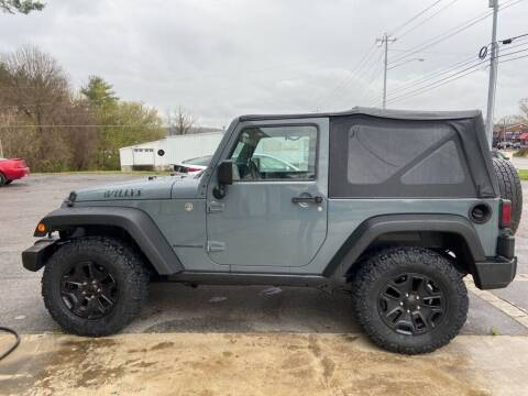 2014 Jeep Wrangler for sale at Family Auto Sales of Johnson City in Johnson City TN