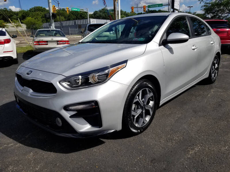 2020 Kia Forte for sale at Cedar Auto Group LLC in Akron OH