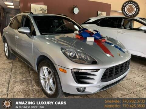 2016 Porsche Macan for sale at Amazing Luxury Cars in Snellville GA