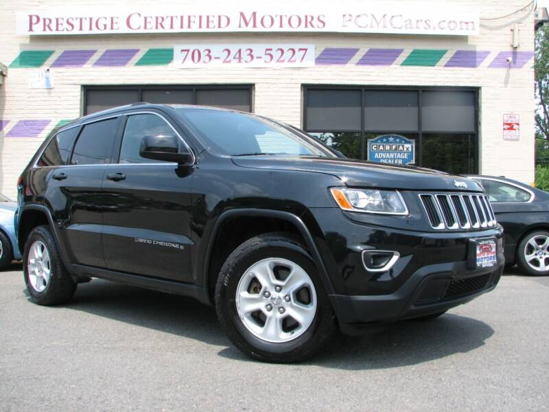 2015 Jeep Grand Cherokee for sale at Prestige Certified Motors in Falls Church VA