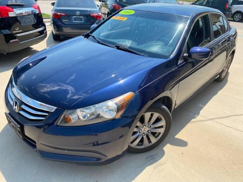 2012 Honda Accord for sale at Raj Motors Sales in Greenville TX