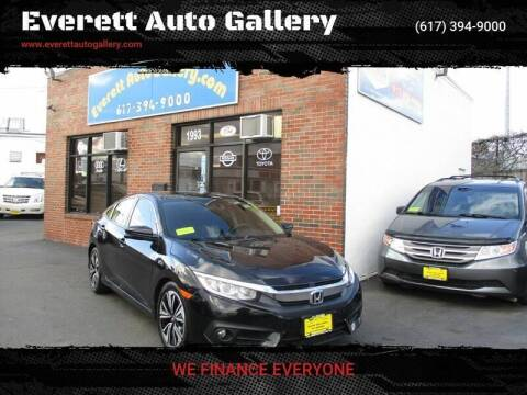 2017 Honda Civic for sale at Everett Auto Gallery in Everett MA