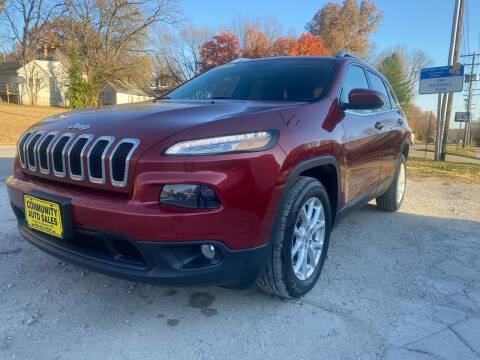 2015 Jeep Cherokee for sale at Community Auto Sales & Service in Fayette MO