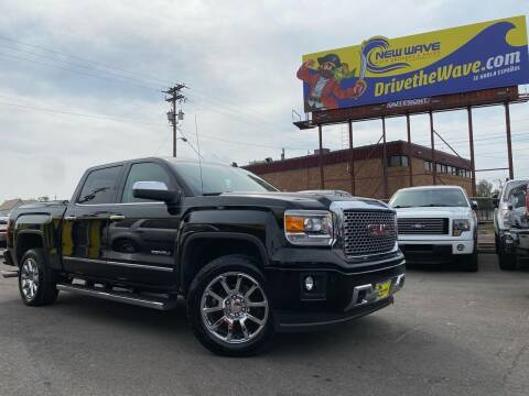 2014 GMC Sierra 1500 for sale at New Wave Auto Brokers & Sales in Denver CO