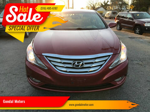 2013 Hyundai Sonata for sale at Gondal Motors in West Hempstead NY