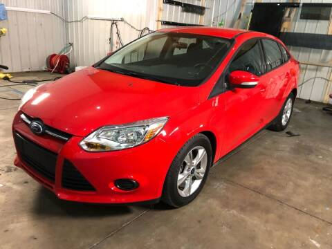 2013 Ford Focus for sale at AutoWorx Sales in Columbia City IN