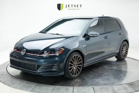 2019 Volkswagen Golf GTI for sale at Jetset Automotive in Cedar Rapids IA