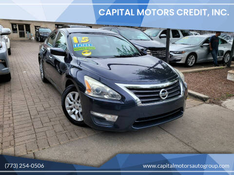 2015 Nissan Altima for sale at Capital Motors Credit, Inc. in Chicago IL