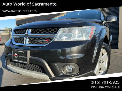 2012 Dodge Journey for sale at Auto World of Sacramento Stockton Blvd in Sacramento CA