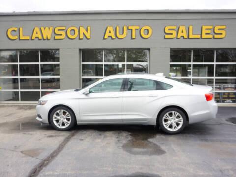 2015 Chevrolet Impala for sale at Clawson Auto Sales in Clawson MI