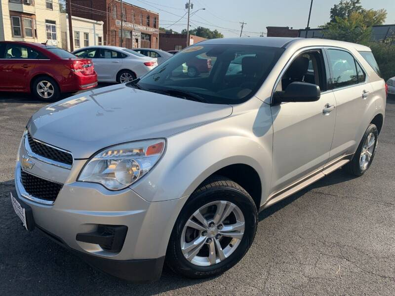 2012 Chevrolet Equinox for sale at Bob Karl's Sales & Service in Troy NY