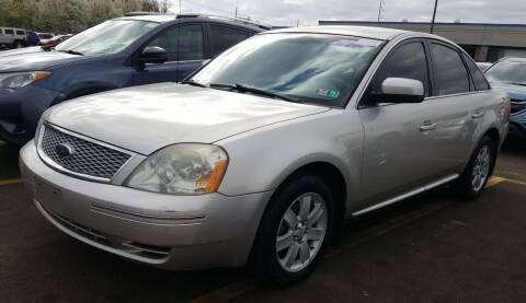 2007 Ford Five Hundred for sale at Angelo's Auto Sales in Lowellville OH