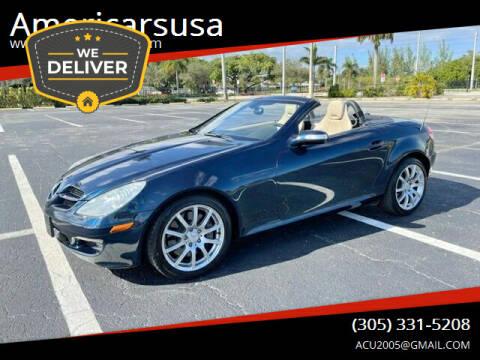 2006 Mercedes-Benz SLK for sale at Americarsusa in Hollywood FL