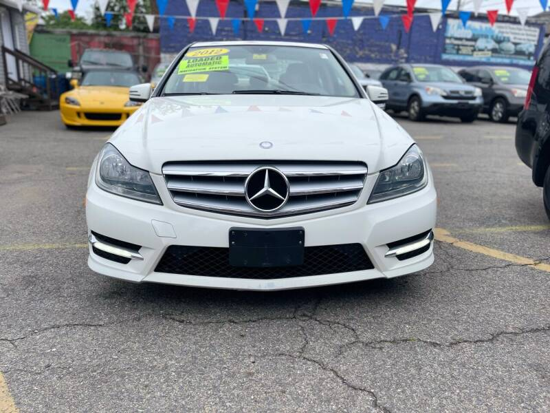 2012 Mercedes-Benz C-Class for sale at Metro Auto Sales in Lawrence MA