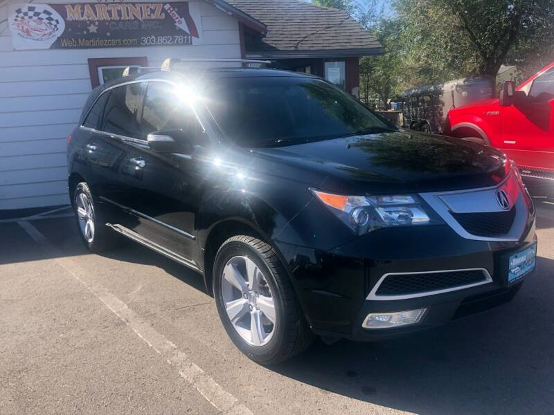 2013 Acura MDX for sale at Martinez Cars, Inc. in Lakewood CO