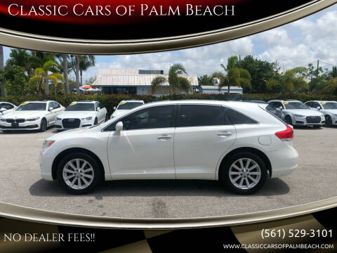 2010 Toyota Venza for sale at Classic Cars of Palm Beach in Jupiter FL