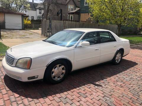 2004 Cadillac DeVille for sale at RIVER AUTO SALES CORP in Maywood IL