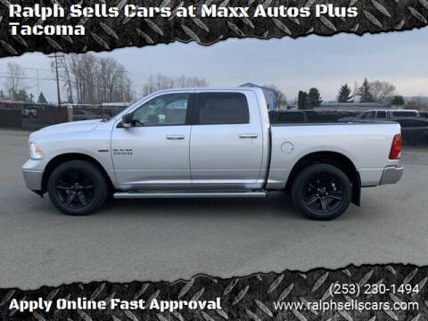 2017 RAM Ram Pickup 1500 for sale at Ralph Sells Cars at Maxx Autos Plus Tacoma in Tacoma WA