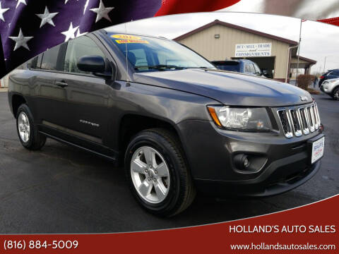 2015 Jeep Compass for sale at Holland's Auto Sales in Harrisonville MO