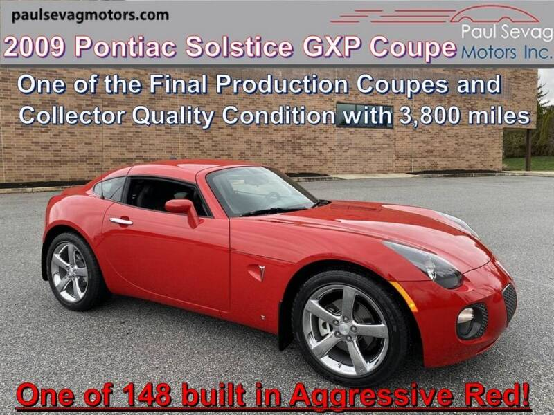 2009 Pontiac Solstice for sale in West Chester, PA