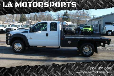 2011 Ford F-550 Super Duty for sale at LA MOTORSPORTS in Windom MN