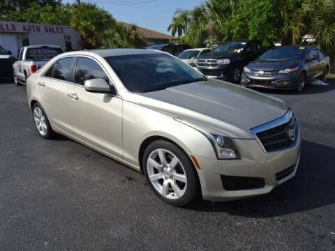 2013 Cadillac ATS for sale at DONNY MILLS AUTO SALES in Largo FL