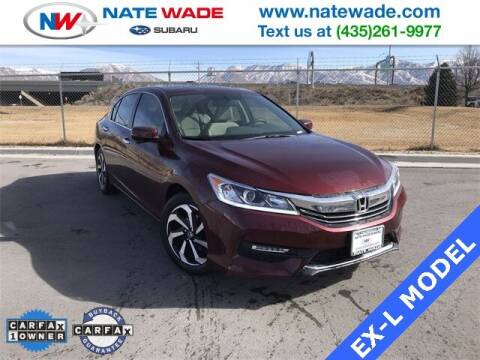 2016 Honda Accord for sale at NATE WADE SUBARU in Salt Lake City UT