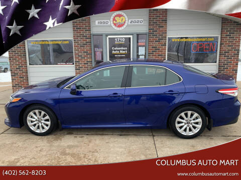 2018 Toyota Camry for sale at Columbus Auto Mart in Columbus NE