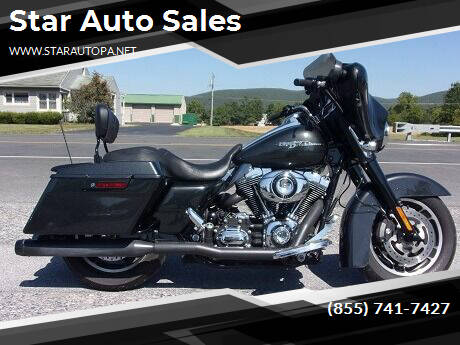 2008 Harley-Davidson Street Glide for sale at Star Auto Sales in Fayetteville PA
