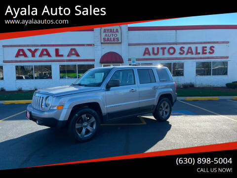 2016 Jeep Patriot for sale at Ayala Auto Sales in Aurora IL