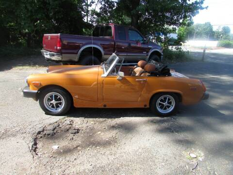 1975 MG Midget for sale at Nutmeg Auto Wholesalers Inc in East Hartford CT