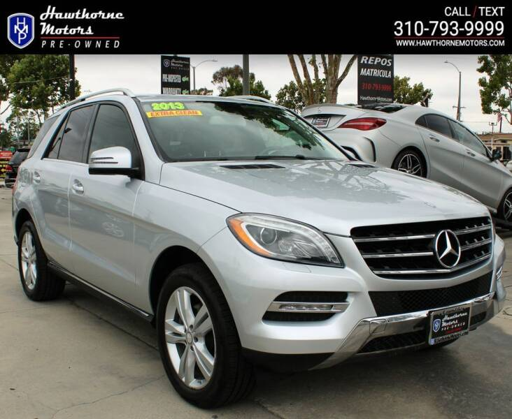 2013 Mercedes-Benz M-Class for sale at Hawthorne Motors Pre-Owned in Lawndale CA