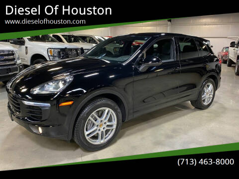 2016 Porsche Cayenne for sale at Diesel Of Houston in Houston TX