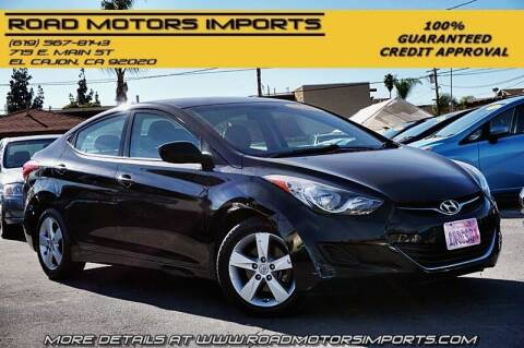 2013 Hyundai Elantra for sale at Road Motors Imports in El Cajon CA
