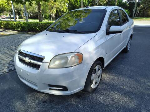 2009 Chevrolet Aveo for sale at Low Price Auto Sales LLC in Palm Harbor FL