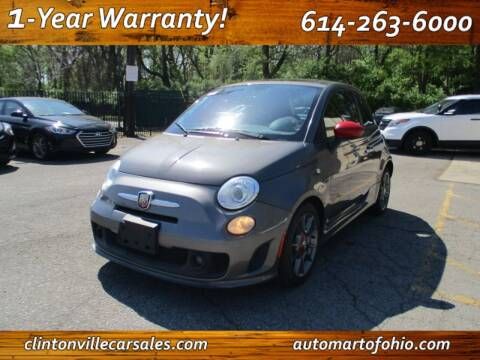 2013 FIAT 500 for sale at Clintonville Car Sales - AutoMart of Ohio in Columbus OH