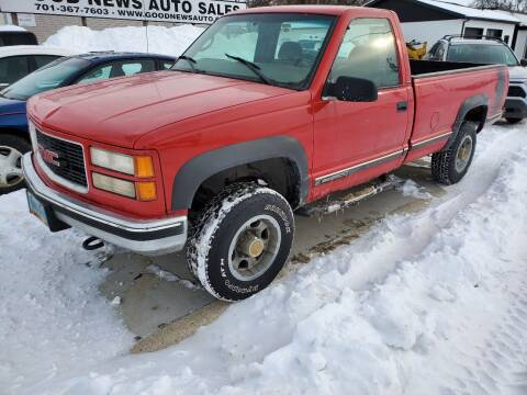 1998 Chevrolet Silverado 2500HD for sale at GOOD NEWS AUTO SALES in Fargo ND