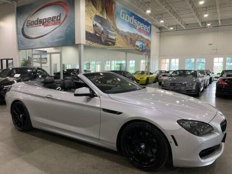 2012 BMW 6 Series for sale at Godspeed Motors in Charlotte NC