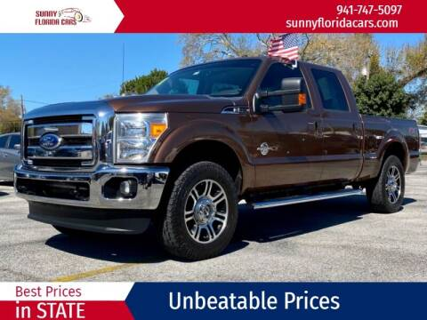 2011 Ford F-250 Super Duty for sale at Sunny Florida Cars in Bradenton FL