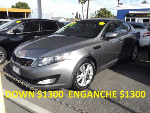 2012 Kia Optima for sale at PACIFICO AUTO SALES in Santa Ana CA