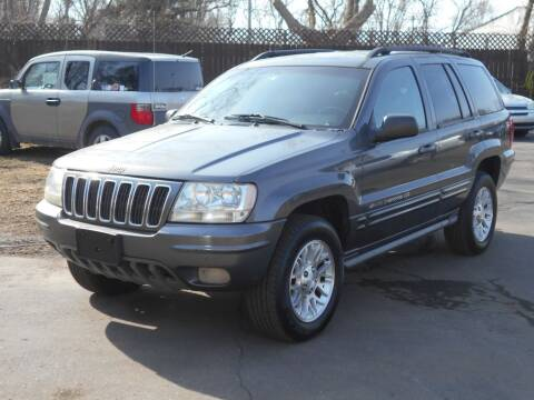 2002 Jeep Grand Cherokee for sale at MT MORRIS AUTO SALES INC in Mount Morris MI