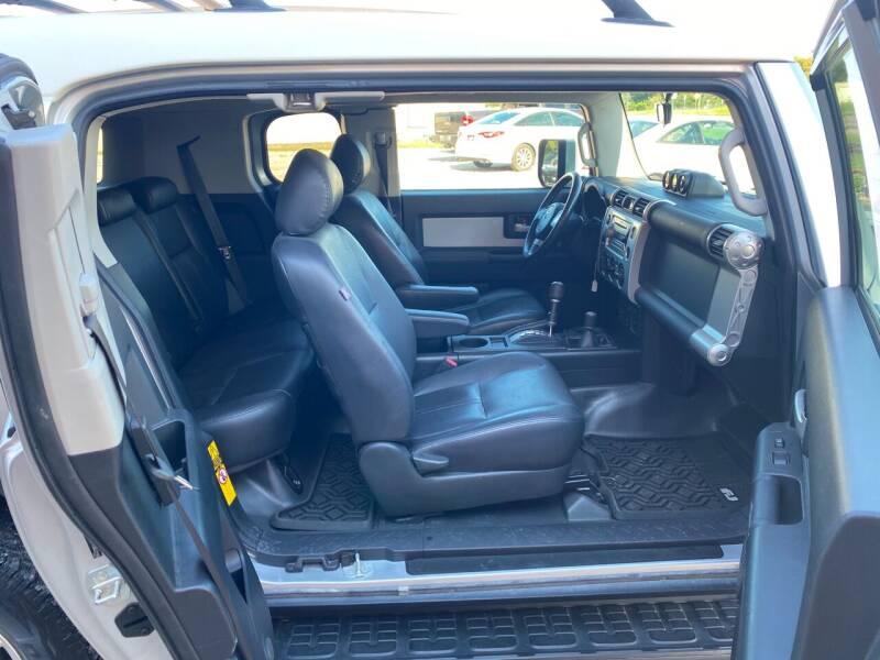 2008 Toyota FJ Cruiser 4x4 4dr SUV 5A - Gainesville TX