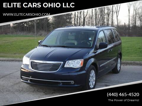 2013 Chrysler Town and Country for sale at ELITE CARS OHIO LLC in Solon OH