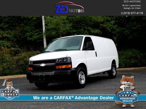 2019 Chevrolet Express Cargo for sale at Zed Motors in Raleigh NC